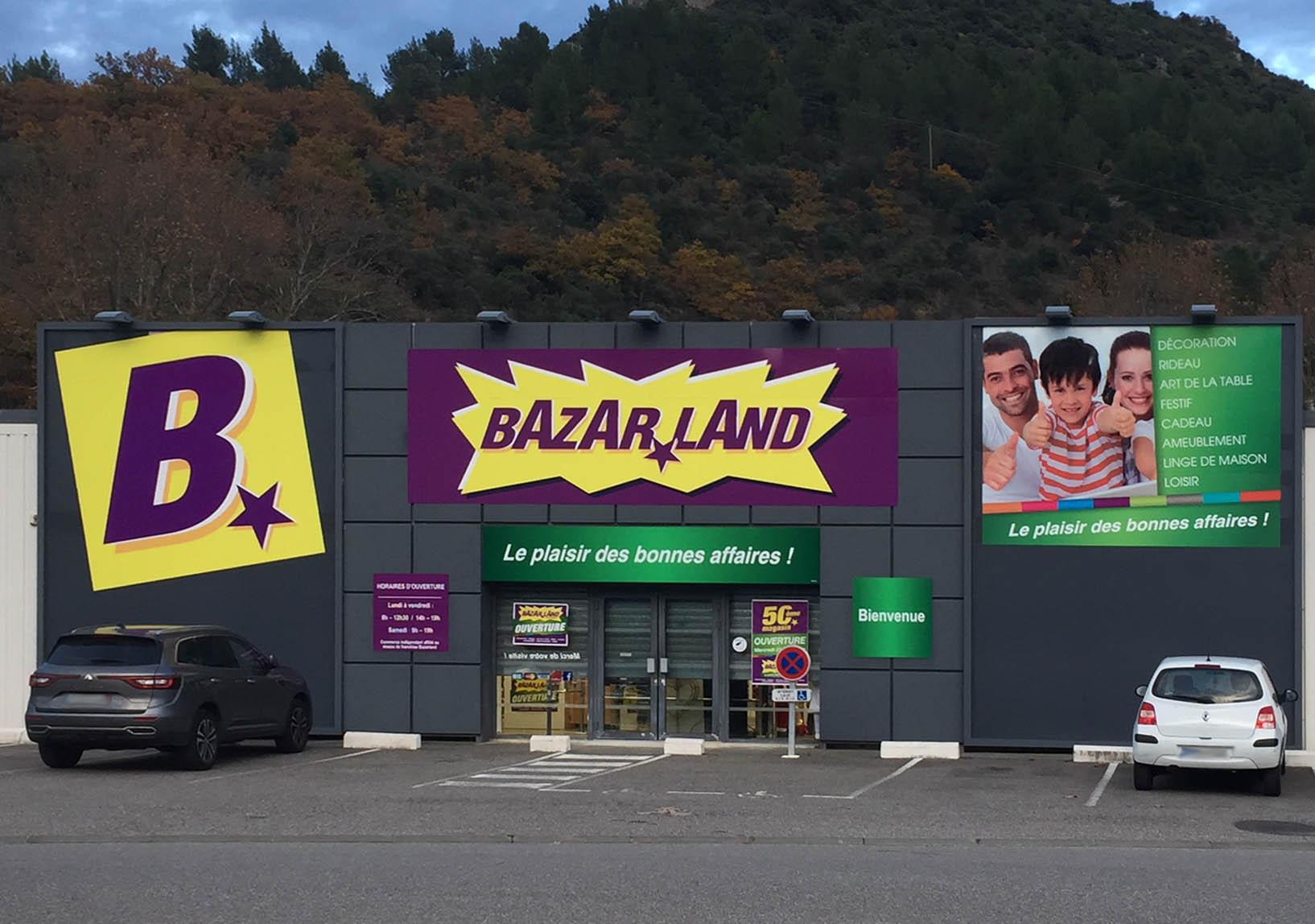 Façade bazarland